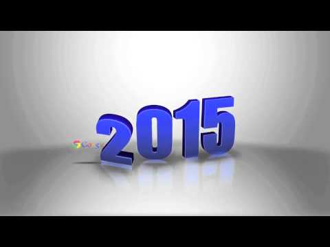 3D Happy New Years 2015 video animation promotion