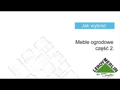 Jak wybrać meble ogrodowe cz. 2