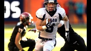 Christian McCaffrey Valor Christian High School Football Highlights 2010-13