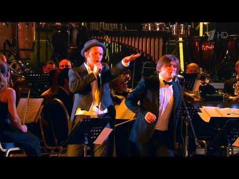 Би-2 с симфоническим оркестром и Ренарс Кауперс - Скользкие улицы