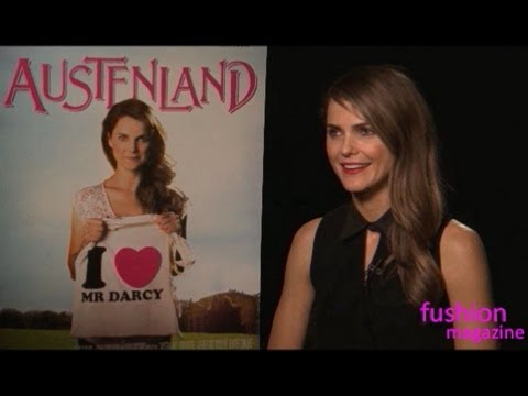 Interview: Keri Russell & Georgia King on AUSTENLAND - YouTube