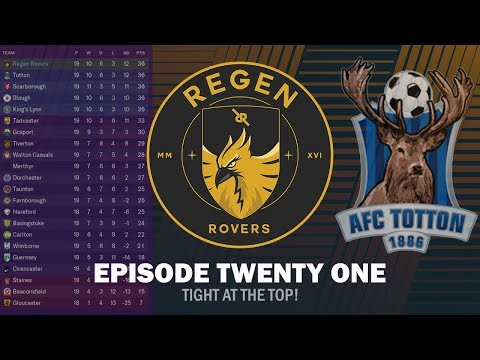 Regen Rovers | Episode 21 - Tight at the Top! | Football Manager 2019