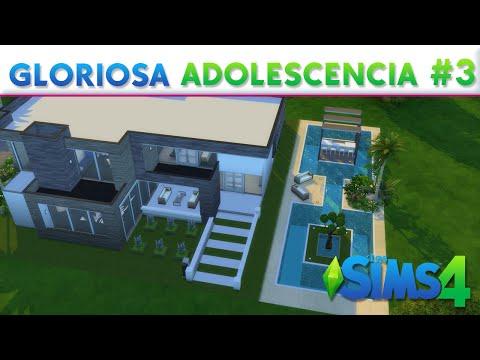 Gloriosa adolescencia los sims 4 construcciones musica for Casa moderna lyna