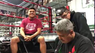 Robert Garcia REVEALS what is next for Mikey Garcia - esnews
