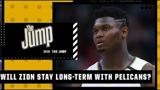 Vince Carter says the Pelicans don't want a Ben Simmons situation with Zion | The Jump