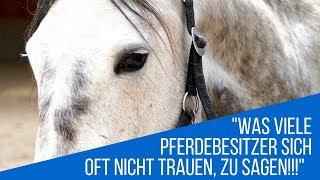 Was viele Pferdebesitzer sich nicht trauen, zu sagen
