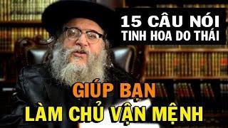 15 câu nói để đời của người Do Thái GIÚP BẠN LÀM CHỦ VẬN MỆNH