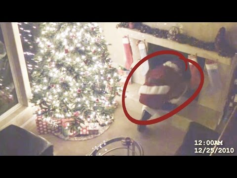 Top 10 Times Santa was Caught on Camera