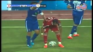 حسام غالي يستعرض عضلاته مع الحكام ويتسبب في هزيمة الاهلي امام حرس الحدود -