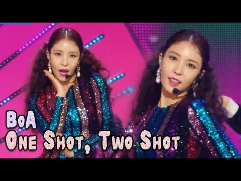 [Comeback Stage] BoA - ONE SHOT, TWO SHOT, 보아 - 원샷, 투샷 Show Music core 20180224