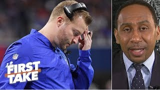 Sean McVay deserves the most blame for Rams' loss in Super Bowl LIII – Stephen A. | First Take