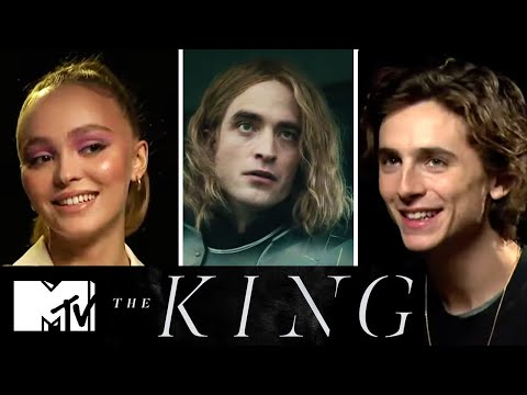 Timothée Chalamet & The King's Cast On Robert Pattinson's French Accent | MTV Movies