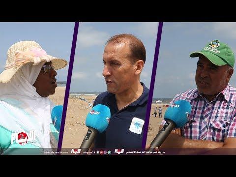 متطوعون ينخرطون في حملة لتنظيف شاطئ زناتة من الملوثات المختلفة
