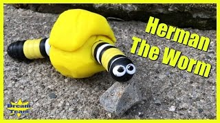 Herman The Worm , Slither.io as Herman The Worm, Blind Bags, Funny Skit Video Songs For Kids