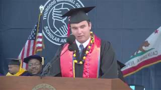 2017 Thurgood Marshall College Commencement
