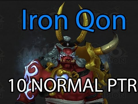 Iron Qon 10 Man Normal Boss Guide Video, Throne of Thunder, Mists of Pandaria