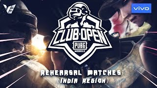 [Hindi] PMCO India Finals Practice Scrims - Day 3 | Vivo