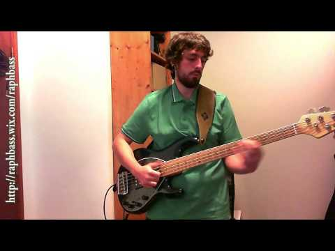 Infectious Grooves - Slo Motion Slam Bass Cover
