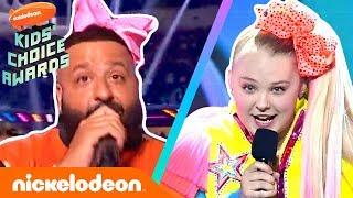 Can JoJo Siwa Outdance DJ Khaled in a Celebrity Dance Challenge? | 2019 Kids' Choice Awards