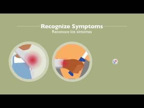 Recognize Symptoms - English, Spanish