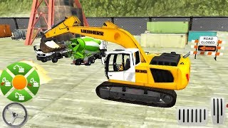 Army Bunker Build - Excavator Construction Simulator - Android GamePlay