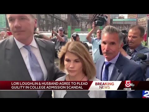 Loughlin, Giannulli reach plea deal in college admissions scandal