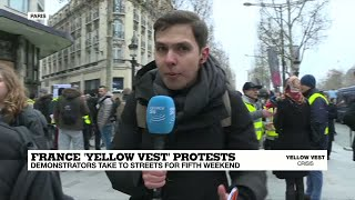 "Yellow Vest protests: ""everything has been quite calm for now"""