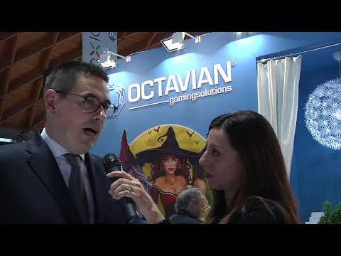 Simone Pachera (Octavian) ad Enada Rimini 2018