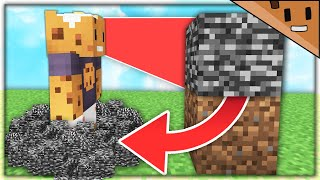 Minecraft, But Every Block You Look At Breaks...