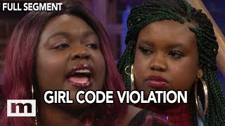 Why was my friend naked with you?   The Maury Show