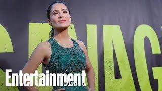 Salma Hayek Claims Harvey Weinstein Threatened 'I Will Kill You'   News Flash   Entertainment Weekly