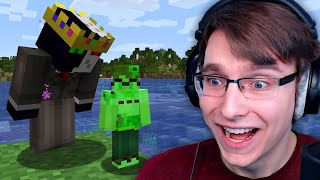 We Became Hilarious Mob Hybrids in Minecraft