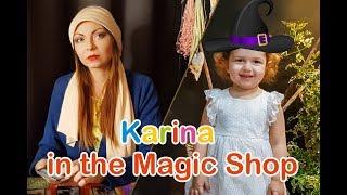 Karina is in The World of Magic. Fun for kids!