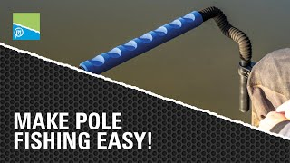 Video thumbnail for Make Pole Fishing Easy! Preston Innovations Match Fishing Videos