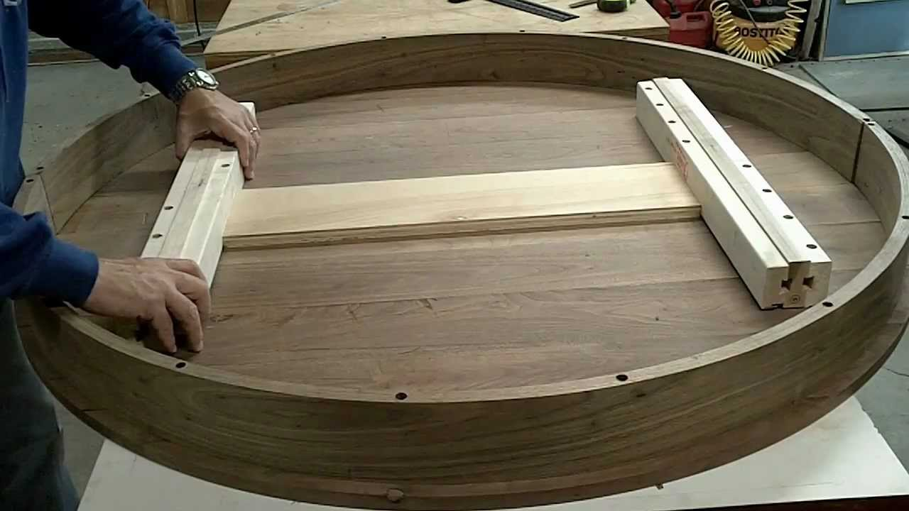 Pedestal Extension Table Part 8 Youtube