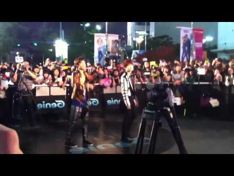 120602 EXO-K Genie AR Show - SUHO&KAI