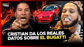 Cristian Casablanca revela como fue que El Alfa se compro su Bugatti y le responde a Molusco