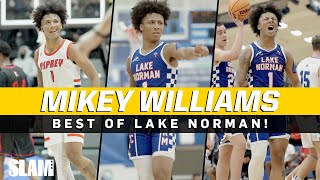 Mikey Williams BEST PLAYS at Lake Norman! 🔥