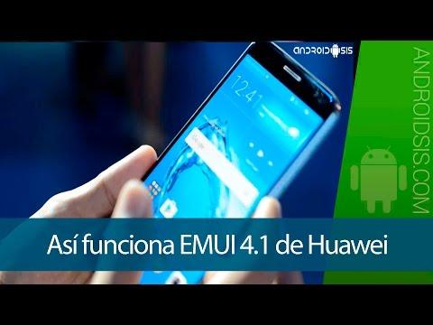 EMUI 4.1, así funciona la última versión de la interfaz de Huawei