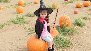 Bé Peanut Thăm Nông Trại Bí Đỏ Mùa Halloween Và Cởi Ngựa / Phù Thủy Và Mr Grim Halloween Pumpkin