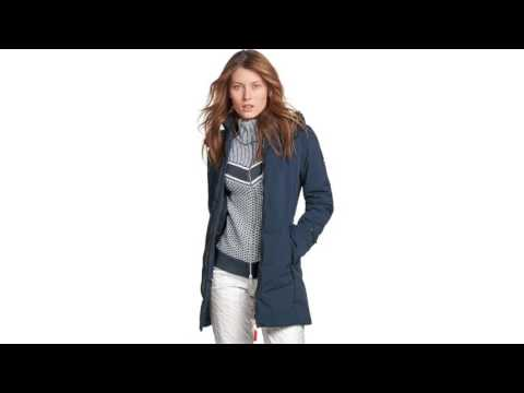 Bogner Carina Womens Knit Midlayer in Navy