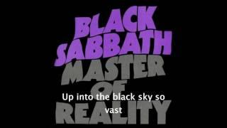 BLACK SABBATH - Into the void (with lyrics)