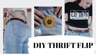 THRIFT FLIP //DIY thrift haul 2019