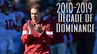 "HD Alabama Top 50 Moments ""Decade of Dominance"""