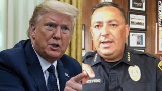 'Keep your mouth shut If you don't have something constructive to say' - Officer tells Donald Trump