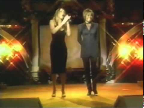 (HQ) Mariah Carey   Whitney Houston - When You Believe (Oprah Winfrey Show 1998).flv