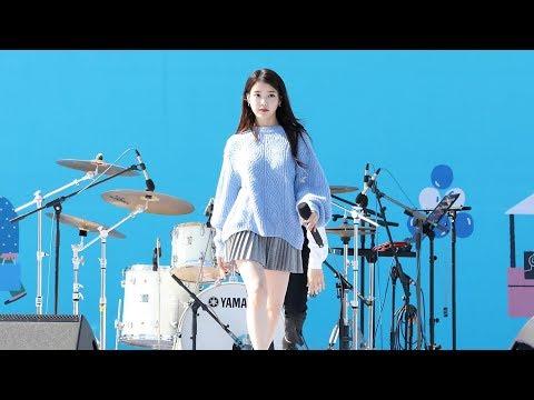 180930 아이유(IU) - 너랑 나 (You & I) [삼성카드홀가분마켓] 4K 직캠 by 비몽