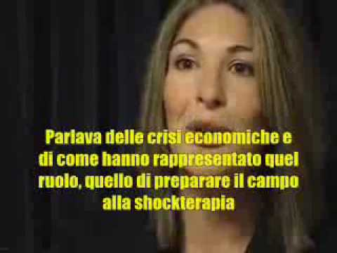Naomi Klein e il Capitalismo dei Disastri - YouTube