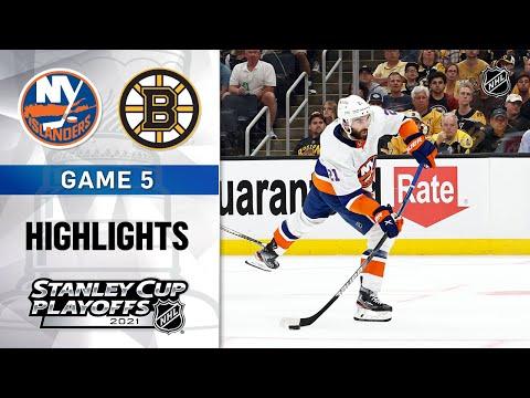 Second Round, Gm 5: Islanders @ Bruins 6/7/21 | NHL Highlights