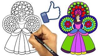 تعليم الرسم للاطفال | تعلم رسم عروسة المولد خطوة بخطوة للمبتدئين ...